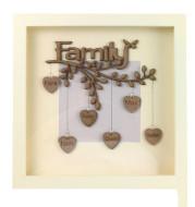 Family Tree Photo Frame Wooden Souvenir