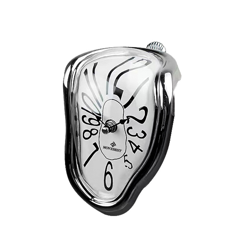 Novel Melting Clock - Surrealist Salvador Dali Style Clock 12