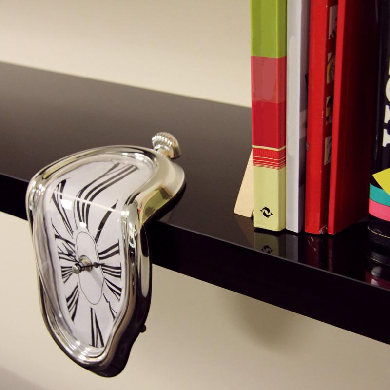 Novel Melting Clock - Surrealist Salvador Dali Style Clock 9