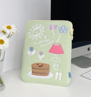 Cute Holding File Bag 13, 15 Inch Laptop Bag, Tablet 11ipad Liner Bag
