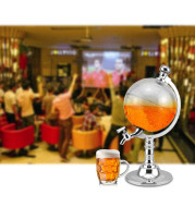 Novelty Globe Wine Decanters Drink Dispenser For Alcohol 1.5L Drinking Game Beer Liquor Dispenser Strainers Bar Accessories New
