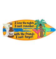 Wooden Surfboard Listing Decoration Surfboard