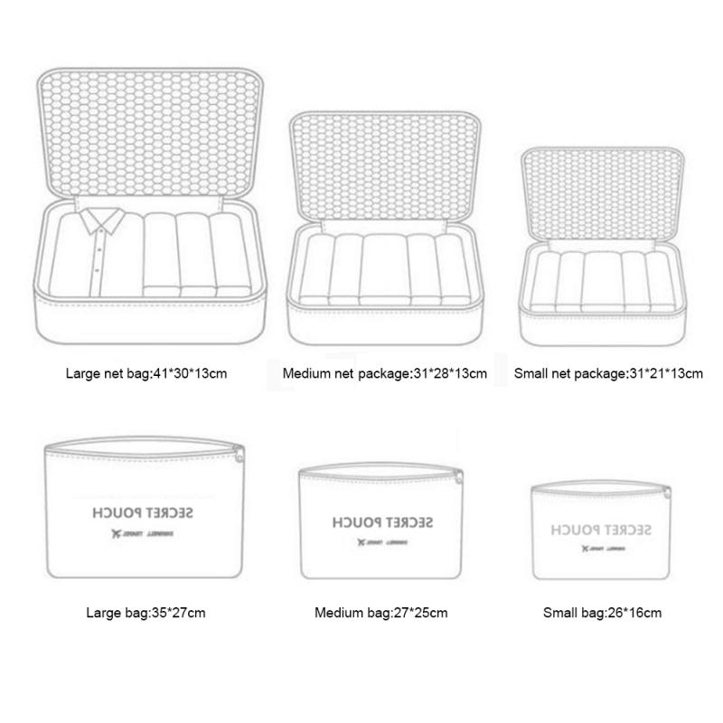 Luggage Organizer - Travel Organizer Bags