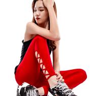 Women Knitted Hollow  Pants Brand HYDRA