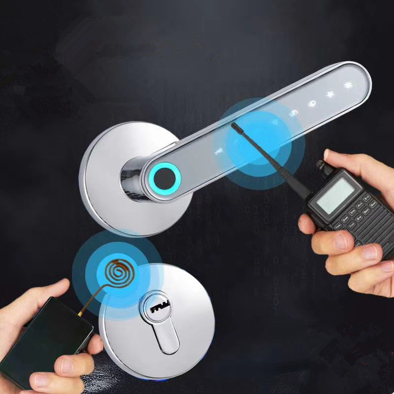 WAFU Fingerprint Door Lock Smart Bluetooth Password Handle Lock APP