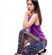 Women Knitted Yoga Pants Brand HYDRA