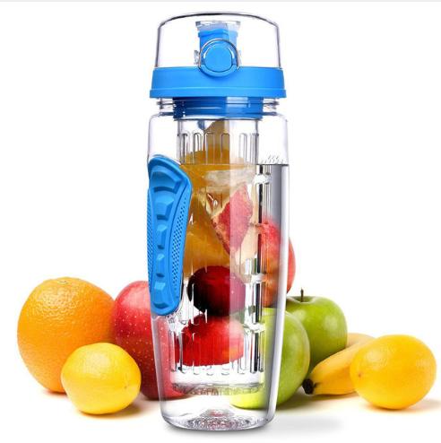 Bottle - 32oz 900ml BPA Free Fruit Infuser