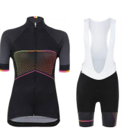 New style short-sleeved bib cycling suit