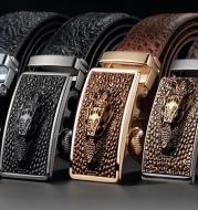 Men's leatherleather belt belt belt belt buckle male wholesale auto manufacturers for micro spot