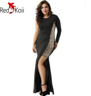 Sexy Fashion Sequin Split Long Party Evening Dress