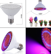 Red Blu-ray cooperation lamp LED plant growth lamp fleshy flower greenhouse vegetable growth lamp high brightness without stroboscopic