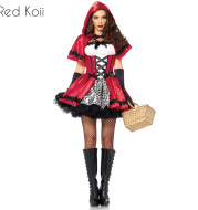 Halloween Costume Little Red Riding Hood Cosplay Suit
