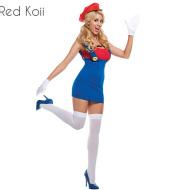 Halloween Costume Super Mario Cosplay Suit