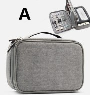 Data line receiving package multi-function digital receiving bag headset hard drive usb drive power protection sleeve.