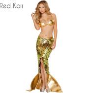 Halloween Costume Mermaid Suit