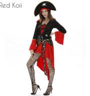 Halloween Costume Pirate Cosplay Suit