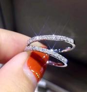 Women's Jewelry Cz Zircon Crystal Band Ring