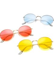 New Korean round jelly sunglasses transparent ocean sunglasses sunglasses vintage sunglasses 3019