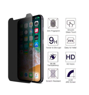 1PC iPhone X Privacy Anti-Spy Tempered Glass Screen Protector