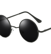 Round frame Mirror Mirror Round Sunglasses Colorful Influx Retro Sunglasses