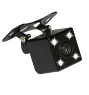 LED Square Plug-in Car Camera Reversing Image Reversing Rear View Camera