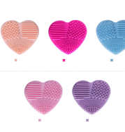 Love Scrubbing Pad Heart-shaped Scrubbing Egg Silicone Heart-shaped Scrubbing Artifact Silicone Heart-shaped Scrubbing Tool