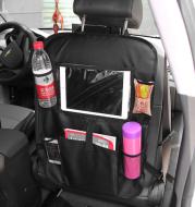 Car storage bag car seat back pocket bag car with IPAD bag 600D Oxford cloth