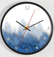 Customised Wall Clock Modern Silent Nordic Style Clock