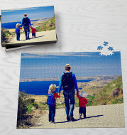 Personalized Jumbo 500 Piece Photo Puzzle