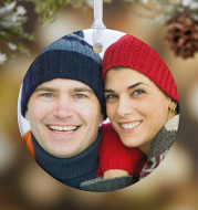 Picture Perfect Personalized Photo Ornament Gift