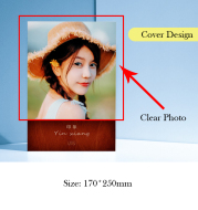 Custom Design, Photo Print Notebook, Cover Printed