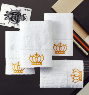 Cotton gift towel custom embroidery boutique hotel hotel sauna large bath towel