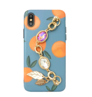 Creative for iPhonexs, max mobile phone shell silicone chain iphone78plus new Huawei P20pro shell