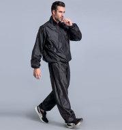 Fitness jump control suit suit men's sports pants sauna clothes sweat dance practice clothes suit