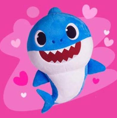 Pinkfong Baby Shark - Mommy Shark - Daddy Shark - Official Song Doll Plush
