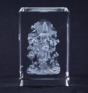 3d Laser Engraving Crystal Souvenir Photo Customized