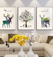 3-part Wall Art Home Canvas Painting
