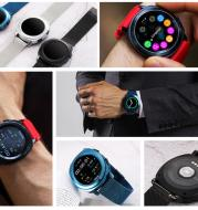 Gomex Universal Smart Watch Bluetooth Mobile Call [Payment] Bracelet Heart Rate Monitoring Waterproof Running Multifunctional  Men''s Walker