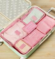 Durable Waterproof Nylon Packing Cube Travel Organizer Bag
