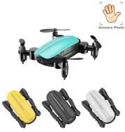 Teeggi T10 Mini Drone With Camera Foldable WiFi FPV RC Quadcopter Headless Mode Altitude Hold VS S9 Micro Pocket Selfie Dron