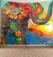 Sunshine Elephant Tapestry