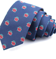 Casual fashion tie  narrow cartoon tie