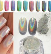 Nail Rainbow Powder Laser Mirror Powder