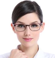 Anti-blue light glasses, stylish and elegant glasses, comfortable eyes, anti-radiation, ultraviolet fatigue reading glasses