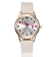 Cartoon foal quartz watch