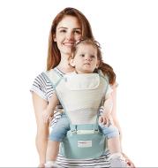 wearable baby wrap breathable mesh kangaroo travel backpack infant slingshot carrier waist stool kangaroo hip baby seat