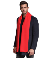 2021 autumn and winter new men's scarf cashmere tide men's business casual thick warm scarf long double-sided