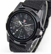 Cloth Belt Weaving Belt Military Watch Sea and Land Air Force Movement Quartz Military Watch