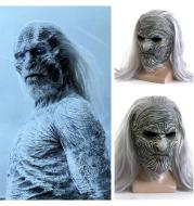 The White Walkers Mask Cosplay Night King Zombie Latex Masks Halloween Party Costume Props