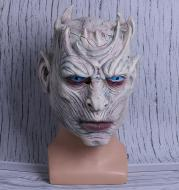 Ghost Night King Mask Horror Face Halloween Haunted House Hood Props